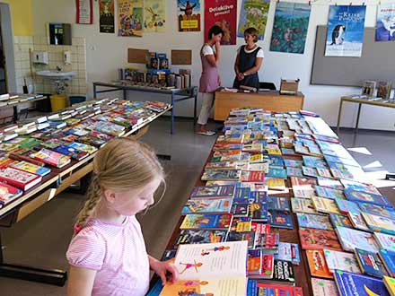 Die Schulbücherei der Grundschule Edendorf