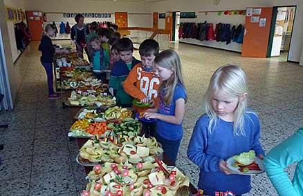 Gesundheitswoche an der Grundschule Edendorf Itzehoe
