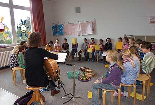 Der Musikraum der Grundschule Edendorf