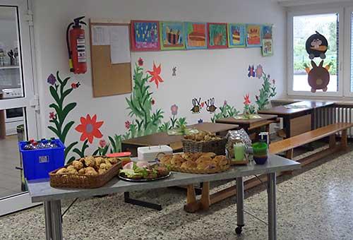 Der Schulkiosk der Grundschule Edendorf