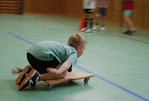 Die Sporthalle der Grundschule Edendorf